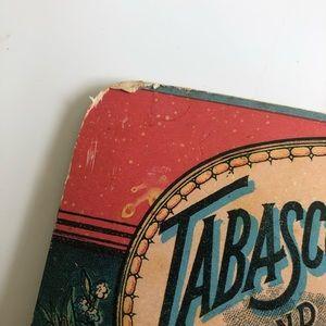 Vintage Wall Art - Vintage Tabasco Key Holder wall Hanging